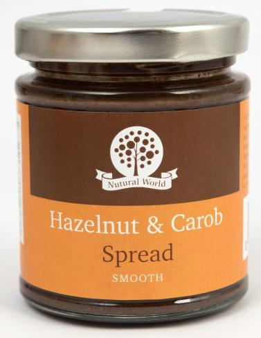 Nutural World Hazelnut and Carob spread - Smooth