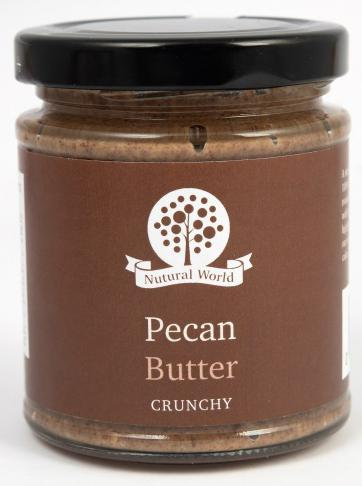 Nutural World Pecan butter - Crunchy