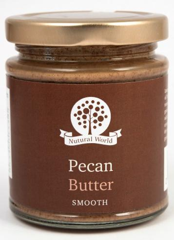 Nutural World Pecan butter - Smooth