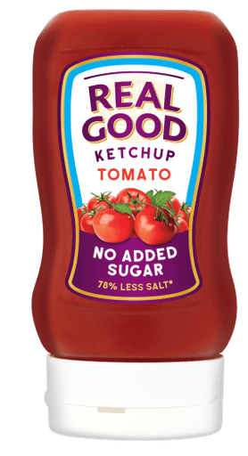 Real Good Tomato Ketchup recyclable squeezy