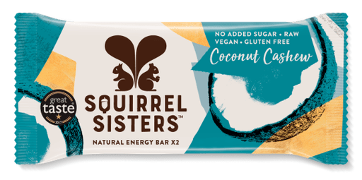Squirrel Sisters Raw Snack Bar: Coconut Cashew