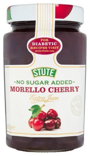 Stute No Sugar Added Morello Cherry Jam