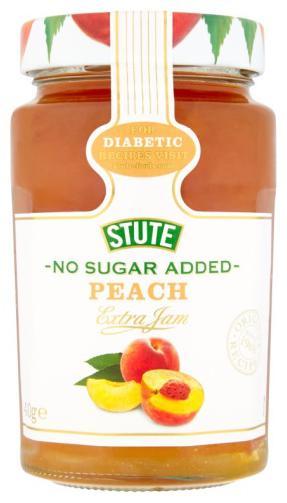 Stute No Sugar Added Peach Jam