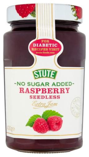 Stute No Sugar Added Raspberry Jam