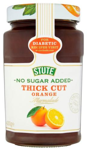 Stute No Sugar Added Thick Cut Orange Marmalade