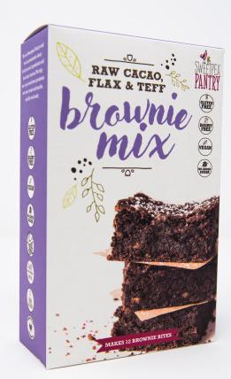 Sweetpea Pantry Brownie Mix with raw cacao, flax and teff