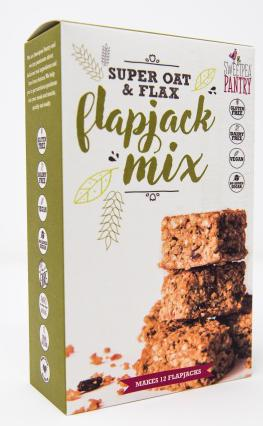 Sweetpea Pantry Flapjack Mix with quinoa and flax