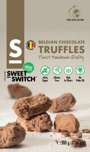 SWEET-SWITCH Belgian Chocolate Truffles 500g