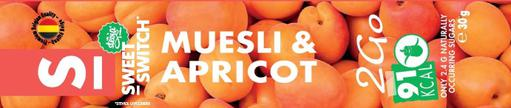 SWEET-SWITCH Muesli & apricot