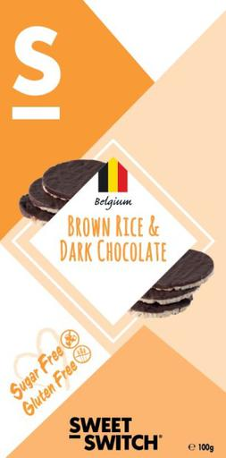 SWEET-SWITCH Organic Brown Rice & Dark Chocolate