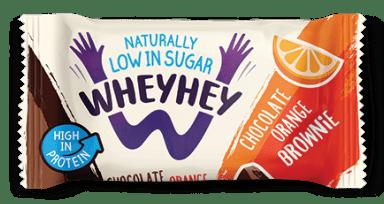 Wheyhey Chocolate Orange Brownie 40g