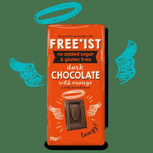 Free'ist - Dark Chocolate with Orange