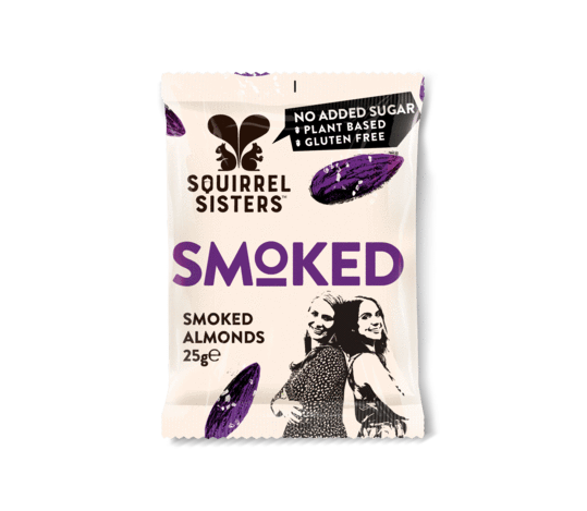 Squirrel Sisters - Smoked Almonds