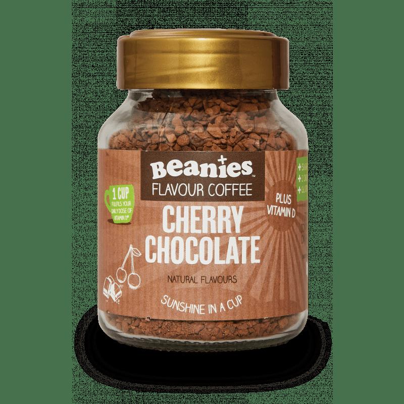Beanies - Cherry Chocolate Flavoured Vitamin D Coffee