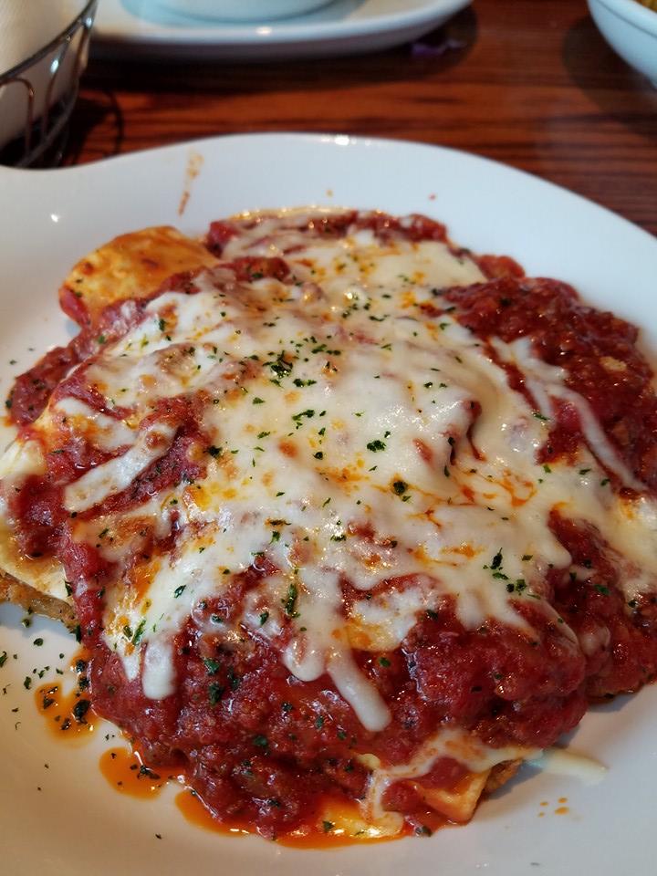 Stuffed Lasagna Roll Recipe