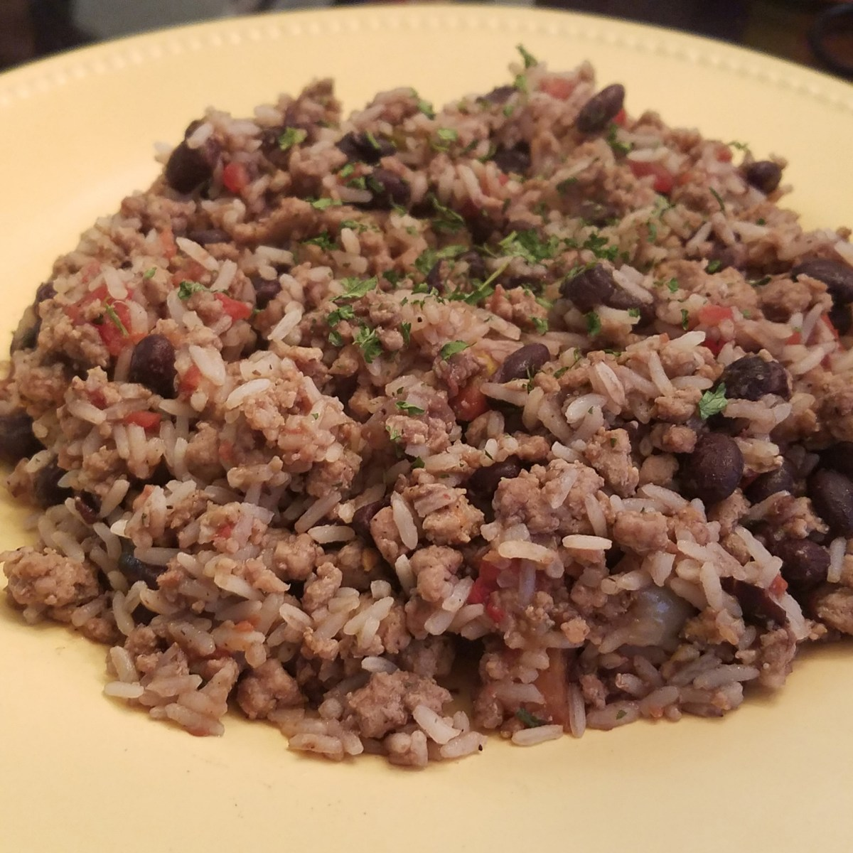 Guilt free Dirty Rice Recipe