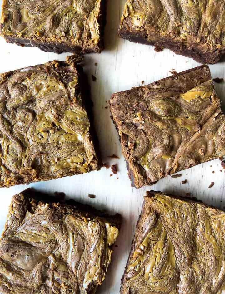 Peanut Butter Swirl Brownies, peanut butter brownie recipe