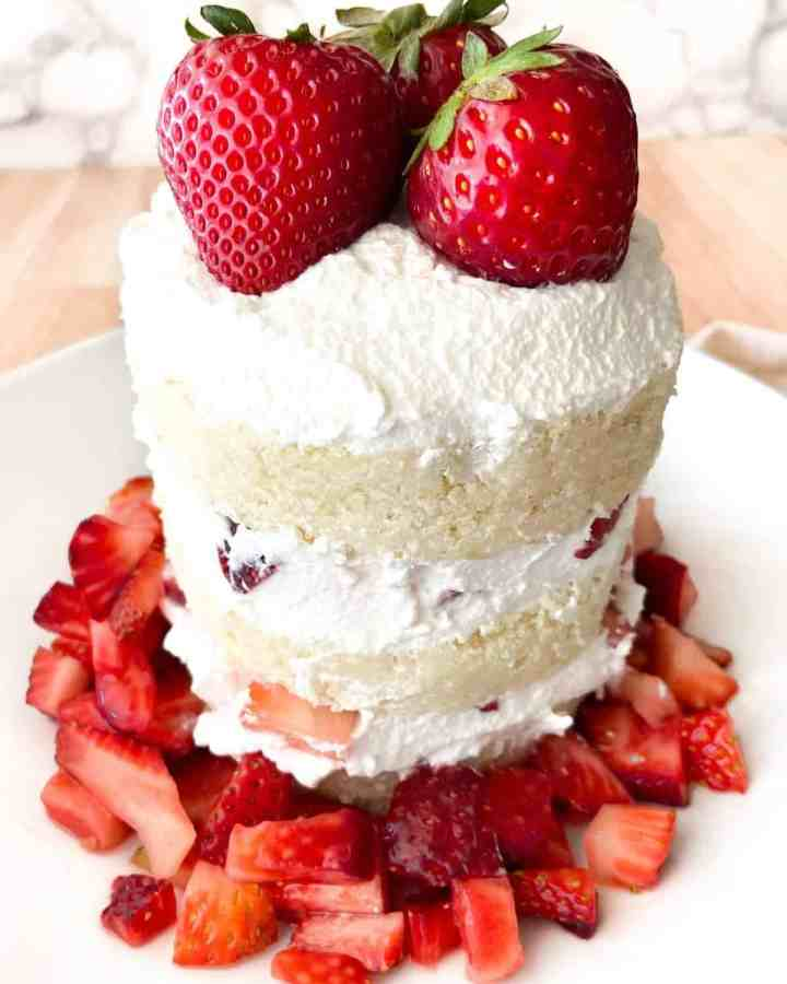 Strawberry Shortcake for 2