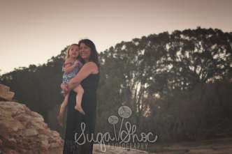 SugaShoc_Photography_Family_Photographer_Bucks County_Doylestown_PA_child-beach-sunset-portrait_mom_and_daughter