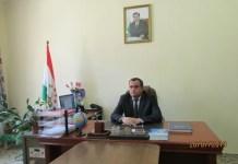 Бобозода Хайрулло Бобо - исполняющий обязанности председателя Горномастчинского района