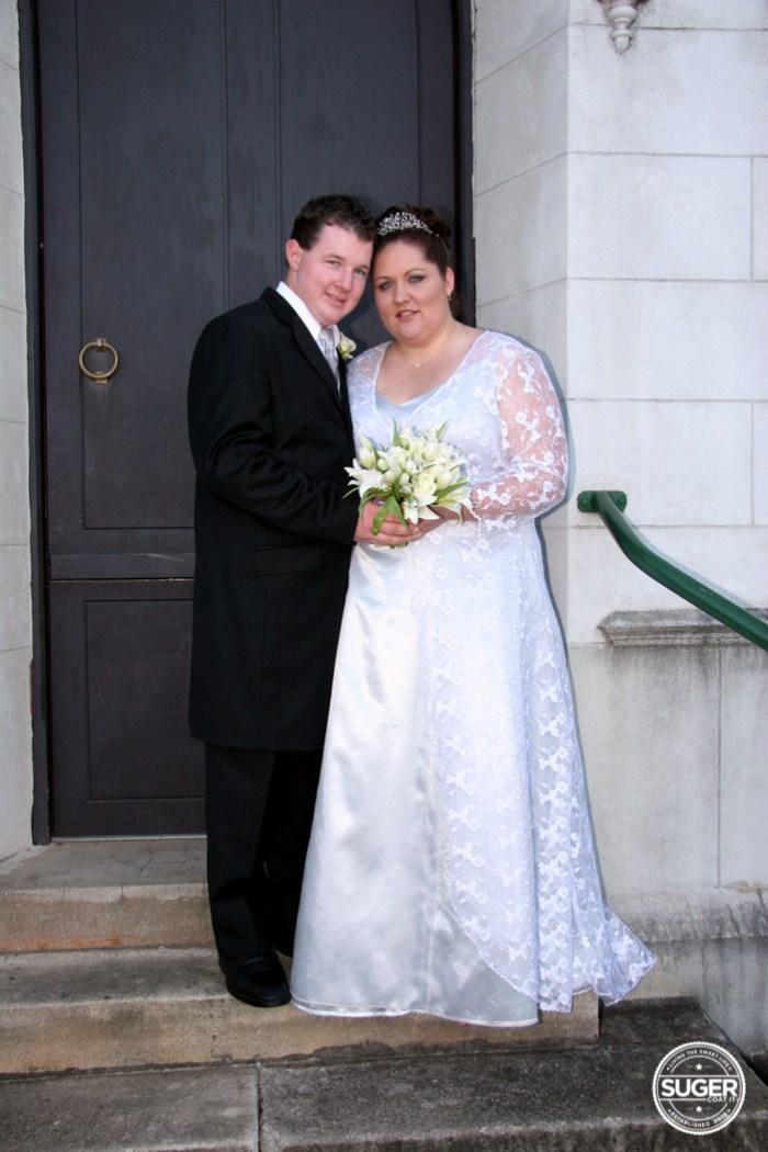 sugers wedding - plus size wedding dress-12