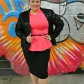 plus size sparkle jacket and peplum top 004, aussie curves, plus size fashion blog, plus size blog, plus size, plus-size, blog, blogger, outfit of the day, ootd, Melissa Walker Horn, Suger Coat It, Queensland, Australia