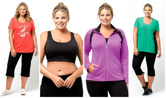 The Best Places to Buy Plus Size Workout Clothes  