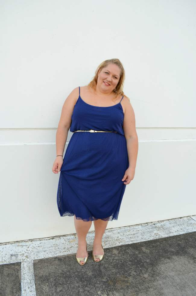 plus size asos midi dress with belt 005