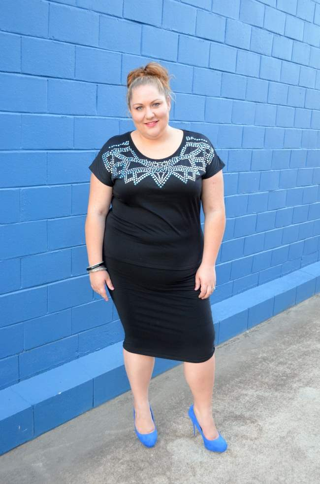 plus size dinner with the girls outfit 005