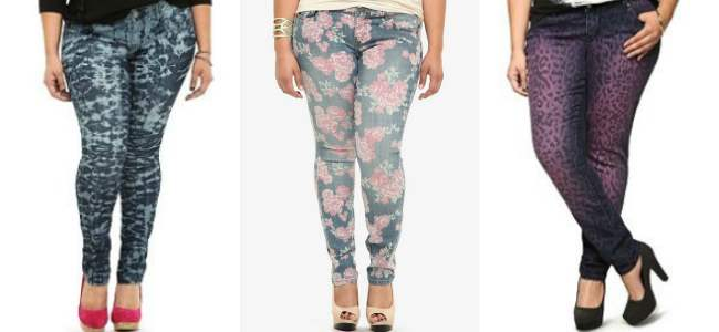 Torrid patterned pants 2013