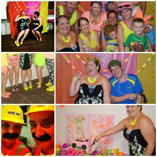 neon party Collage 004