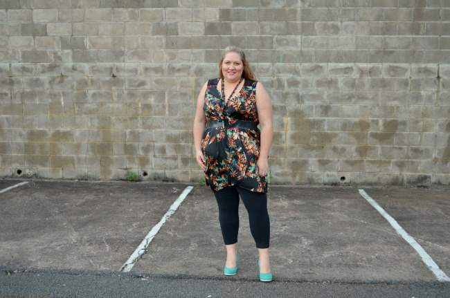plus size city chic tunic and leggings 010