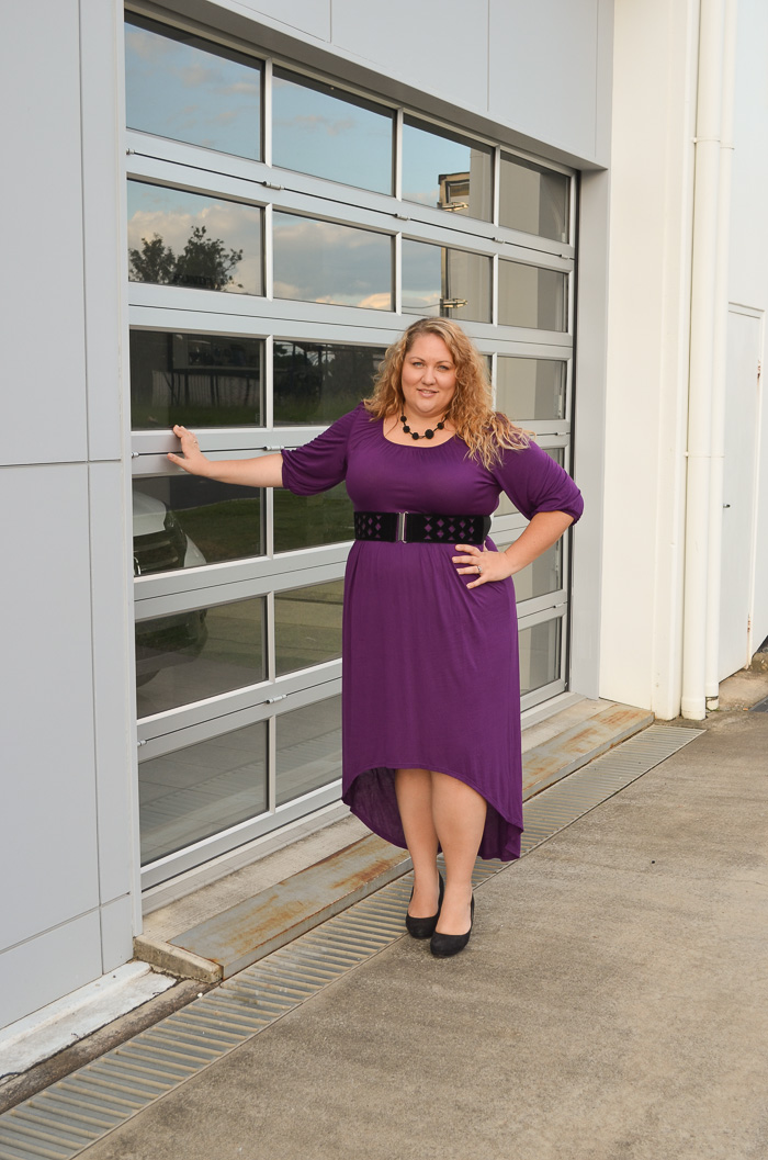 plus size SWAK dress with belt