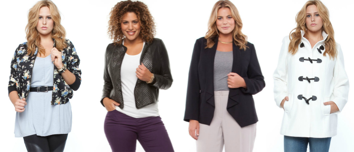 plus size jackets from the iconic