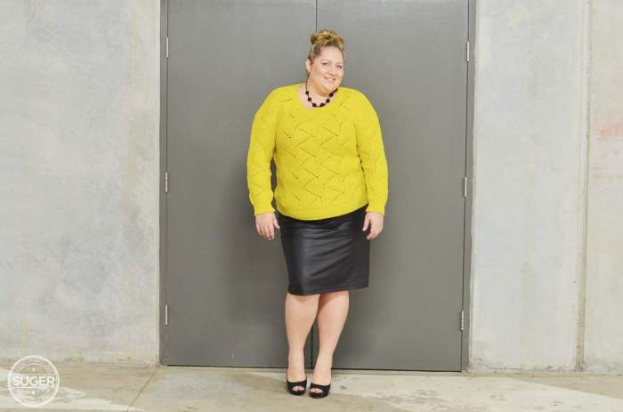 plus size fashion winter outfit-3