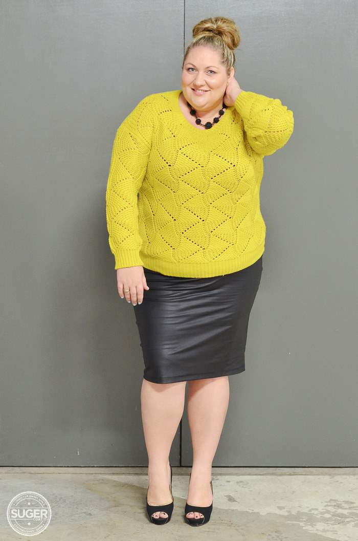 plus size fashion winter outfit-4