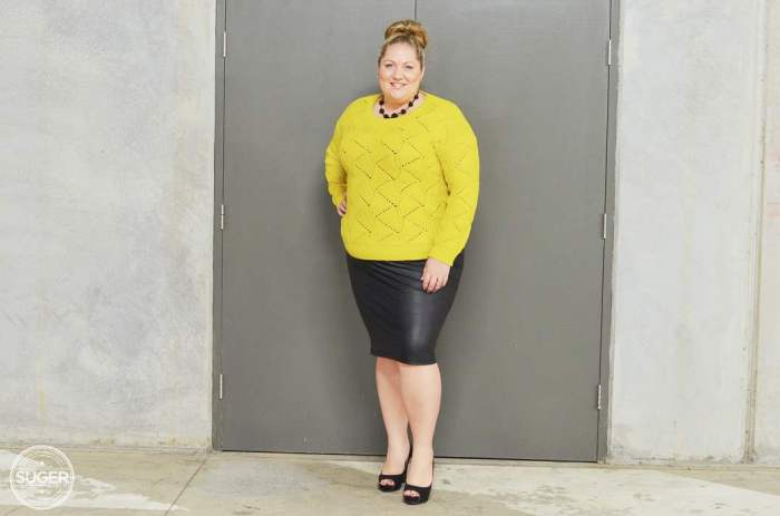 plus size fashion winter outfit