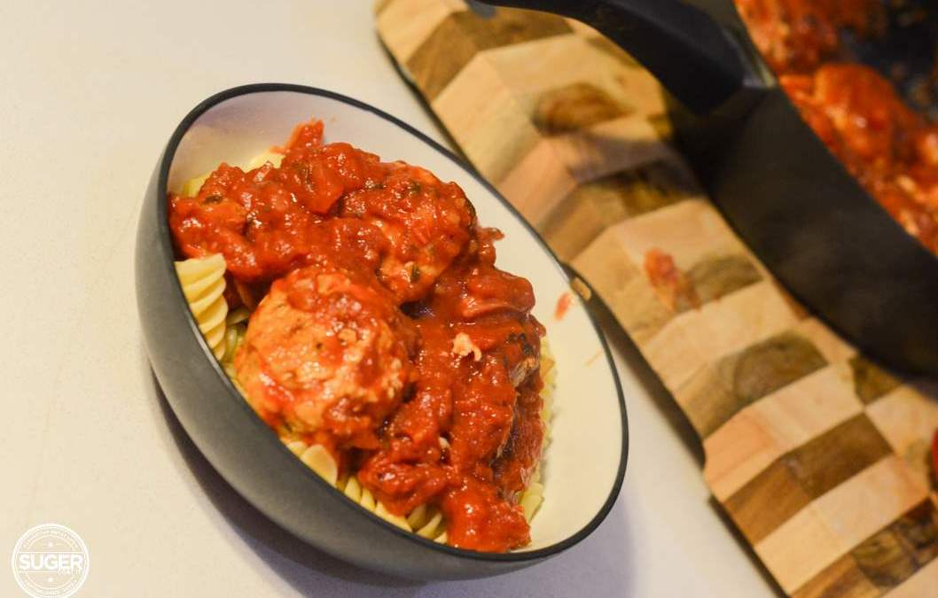 Easy Peasy Baked Meatballs