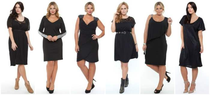 Where to Buy Plus Size LBD {little black dress}
