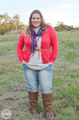 plus size winter layers outfit - aussie curves boho week-3