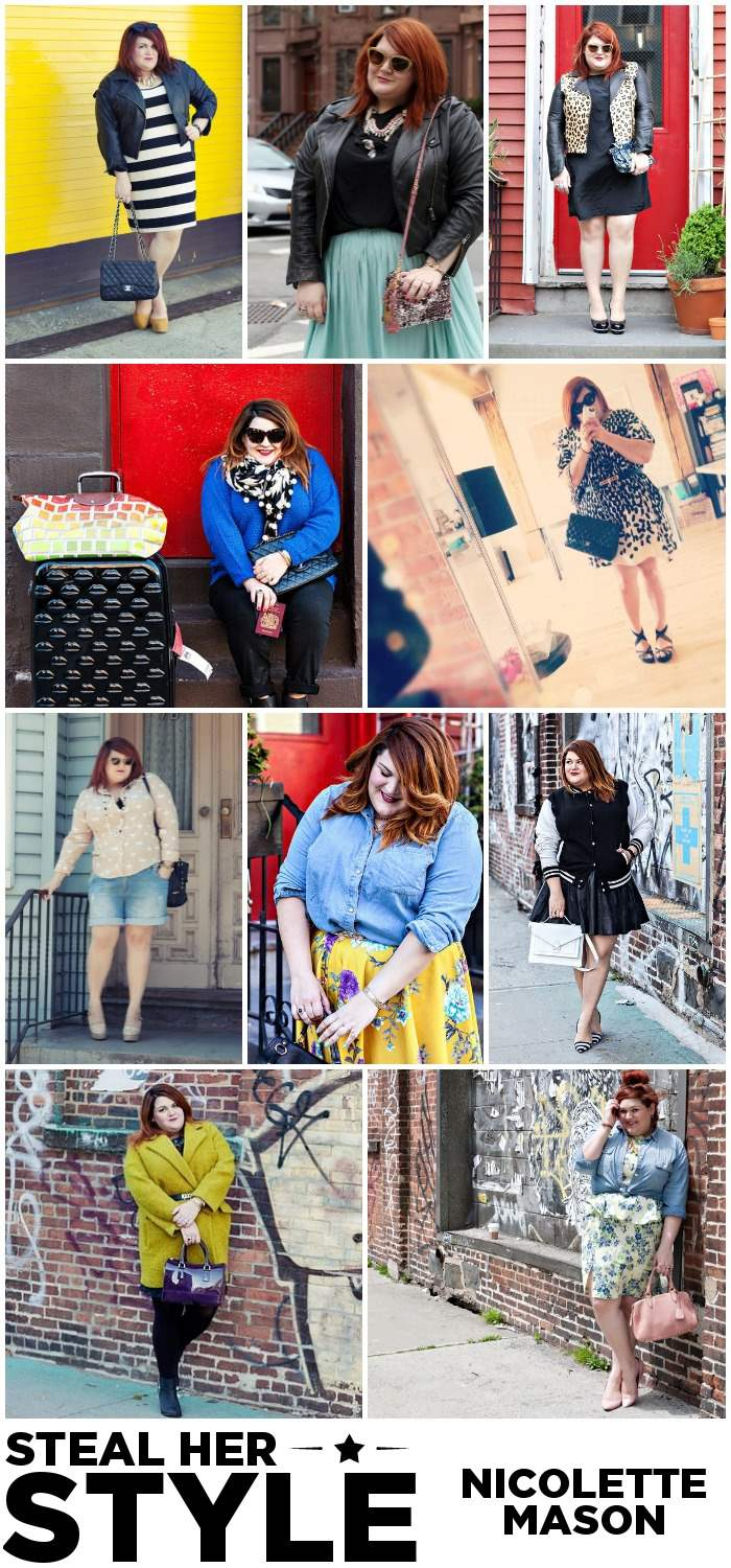 Nicolette Mason Steal Her Style Collage