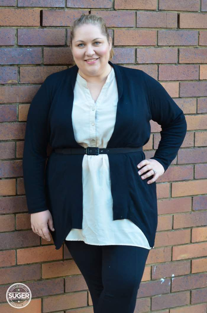 casual work outfit plus size winter-5