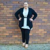 casual work outfit plus size winter-8