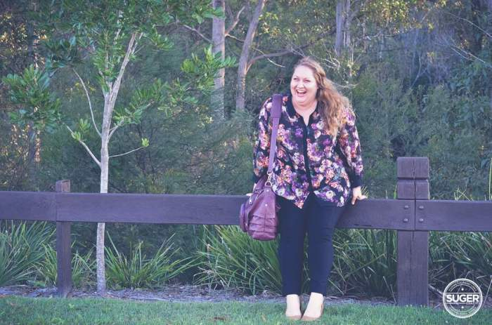 floral shirt and pants outfit plus size fashion-5