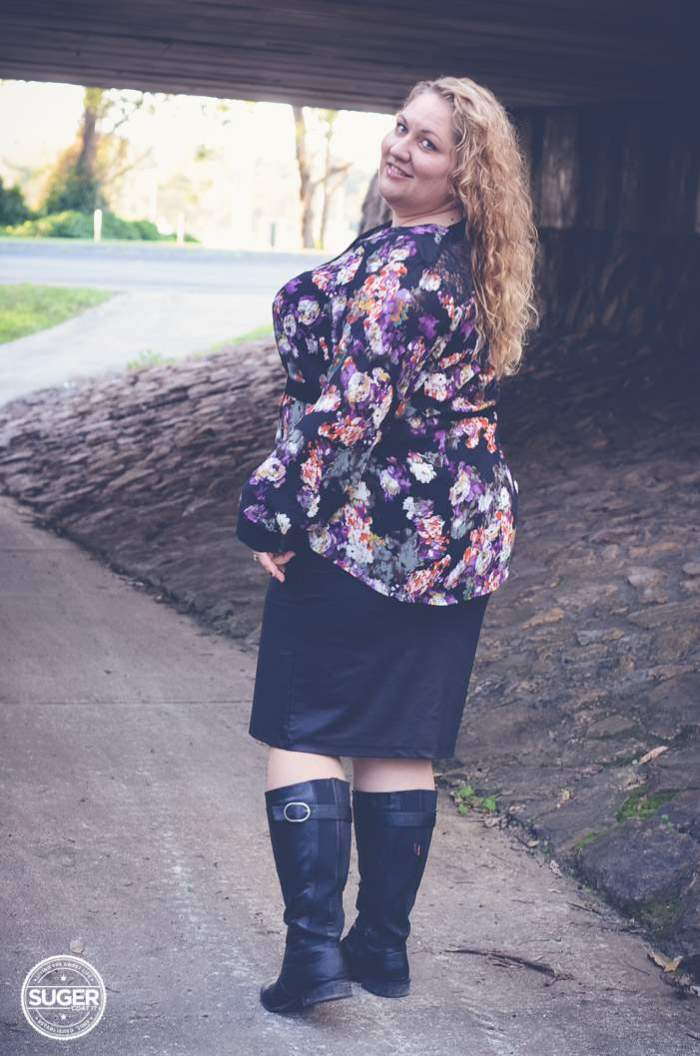 plus size date night outfit and date-4