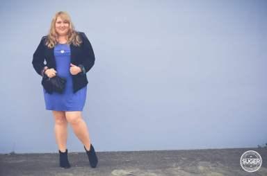 plus size mini with boots + blazer-6