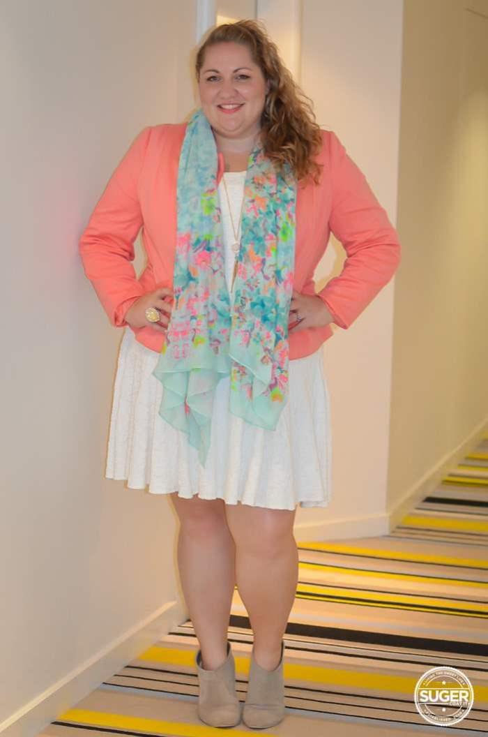 Mid Season Tropical Dress Party Outfit plus size-2