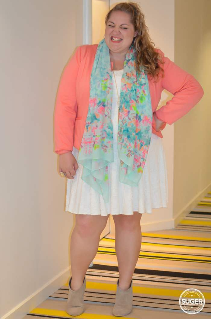Mid Season Tropical Dress Party Outfit plus size-4