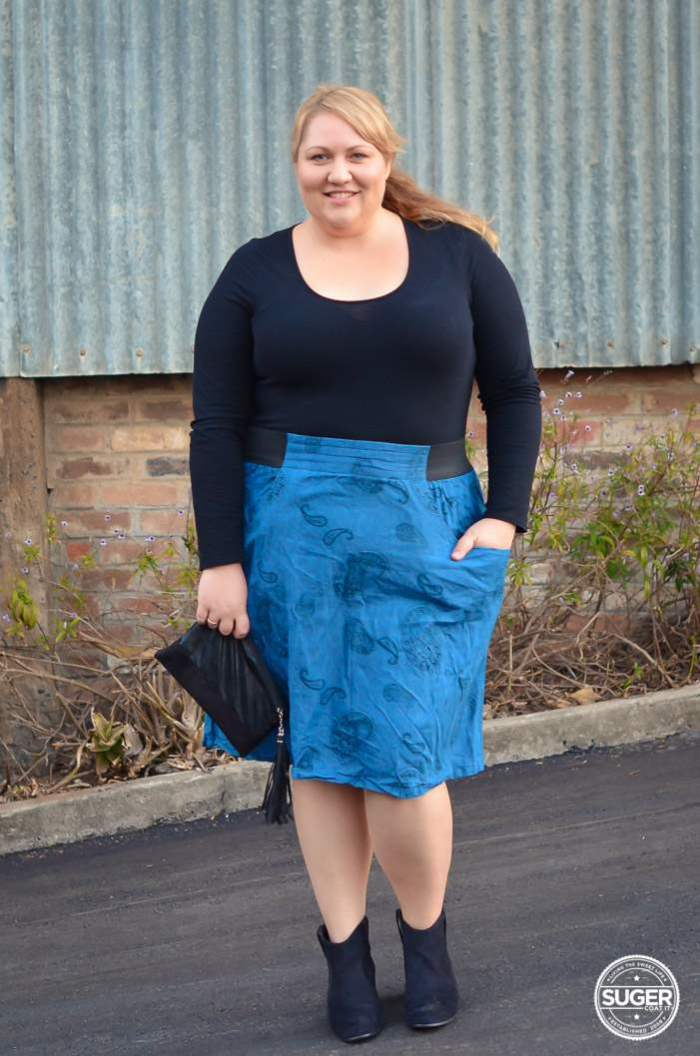 plus size casual outfit 17 sundays-1