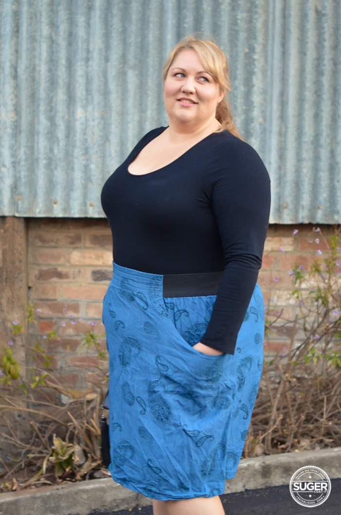 plus size casual outfit 17 sundays-6